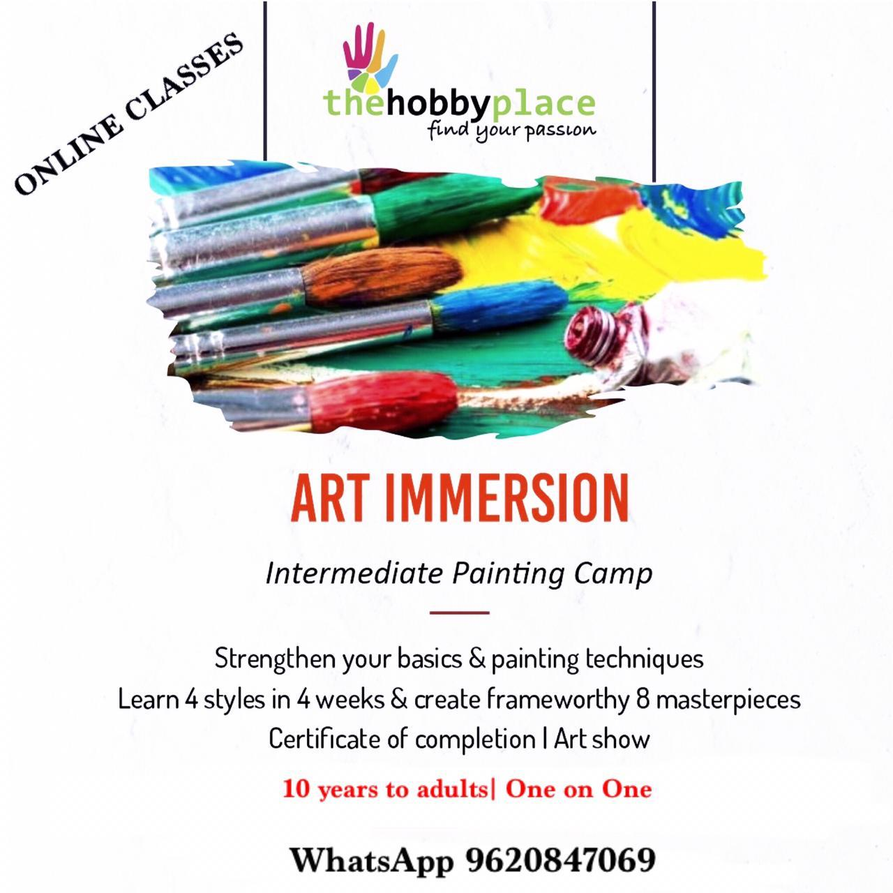 Art Immersion Online Classes